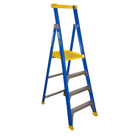 Bailey Fibreglass Platform Step Ladder