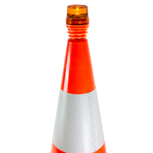 Traffic Cone LED Flashing Light