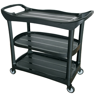 Compass 3-Shelf Utility Cart Service Trolley