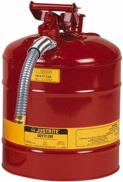 Justrite Safety Cans Type II Dispensing Can with flexible hose