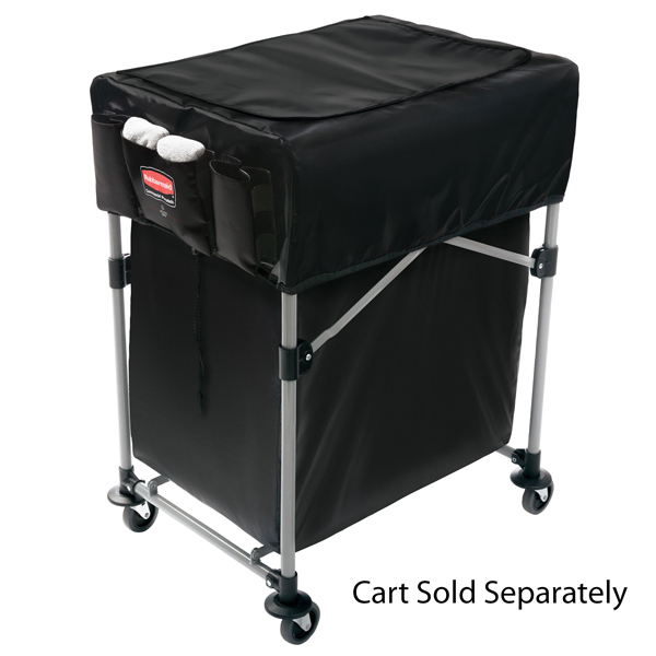 Rubbermaid Small Black Cover for X-Carts