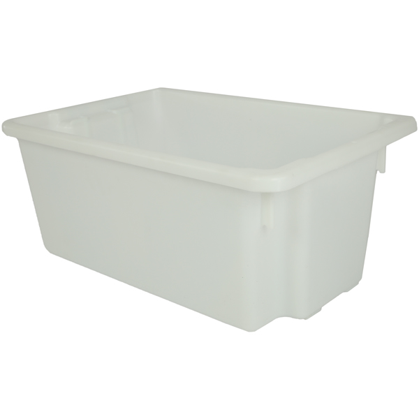 Okka 52 litre Stack and Nest Plastic Storage Containers 10