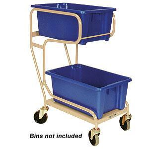 Two Tier Order Picker Trolley
