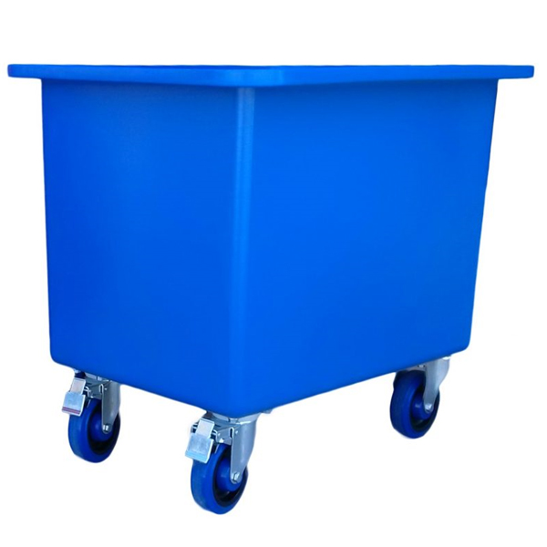 Mobile Tub Trolleys & Rectangular Tubs - Tapered Sides