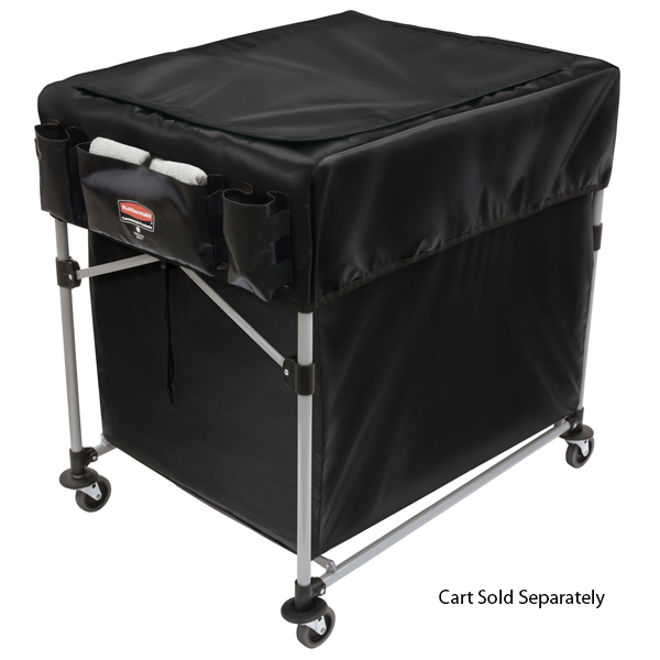 Rubbermaid Large Black Cover for X-Carts