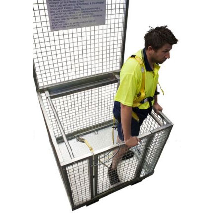 Forklift Work Platform with Wire Mesh Sides WP-MS