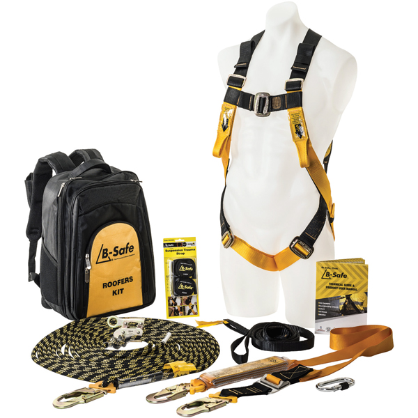 Professional Roofers Kit fall arrest system - 160KG Rated