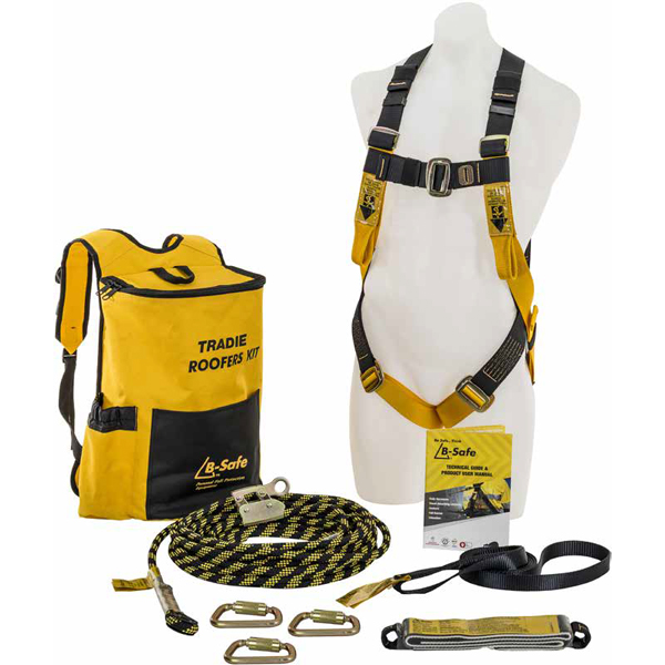 Tradie Roofers Kit Fall Arrest System - 160KG Rated