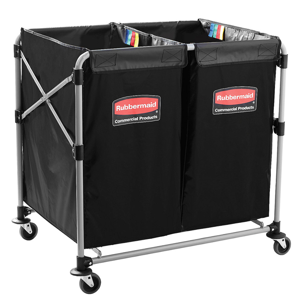 Rubbermaid 1881781 Multistream Collapsible X-Cart -2 x 150 litre