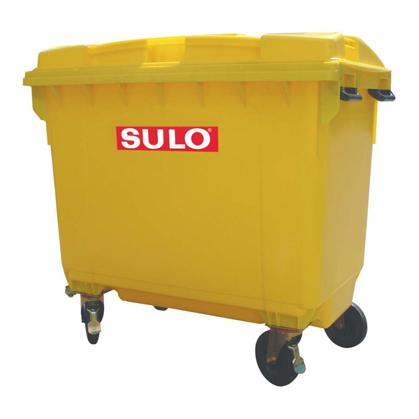 SULO 660 Litre Wheelie Bin with/without lid opening device