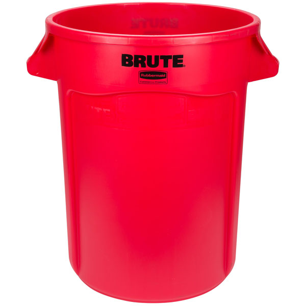 Rubbermaid 2643 BRUTE 166.5L Round Container & Accessories