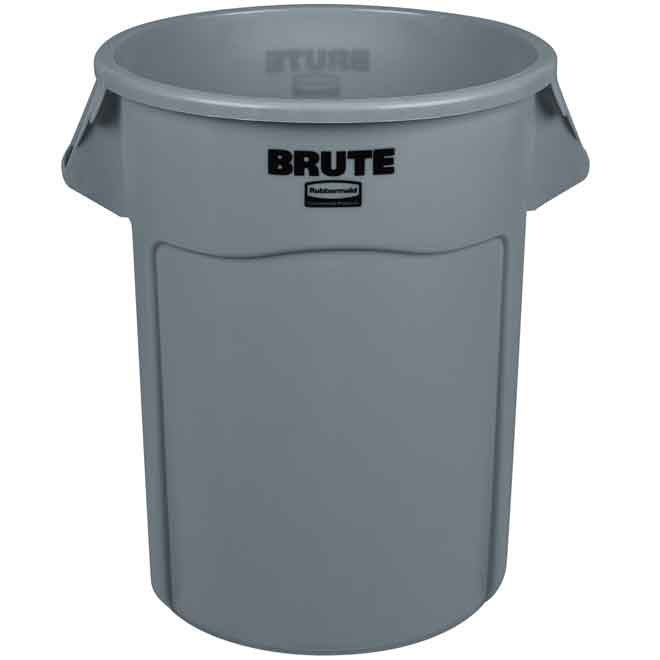 Rubbermaid 2655 BRUTE 208.2L Round Containers & Accessories