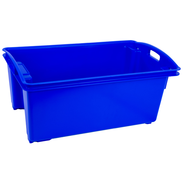Fish Crate Plastic Container Stack Nest Fish Markets Food