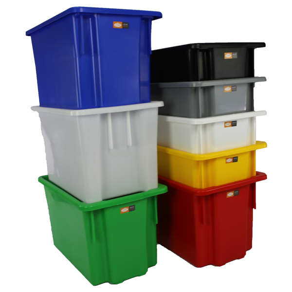 Okka 68 Litre Stack and Nest Storage Containers Food Grade #15
