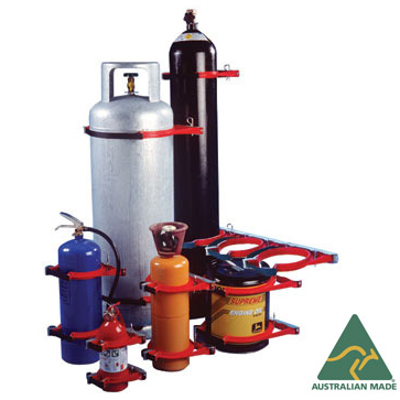 Bottlechock Gas Cylinder Holders and Restraints