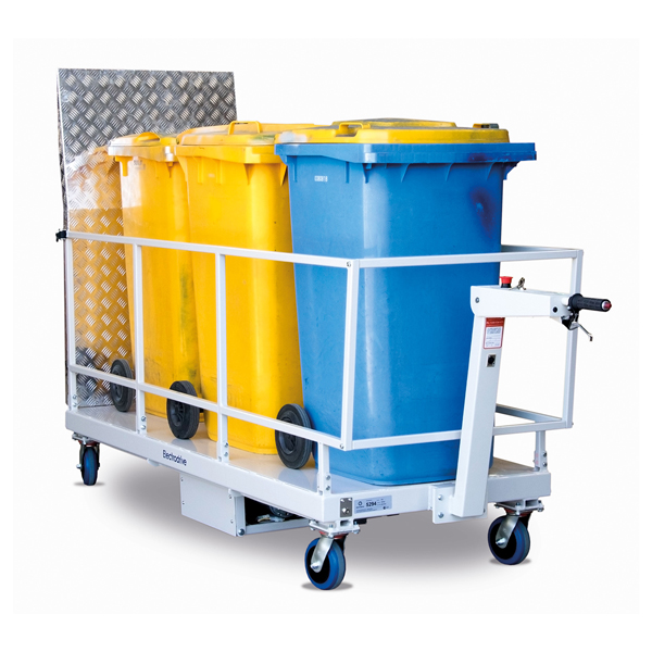 Electrodrive Powered Wheelie Bin Transport Trolley