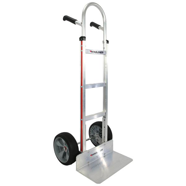 Magliner Straight Back Extruded Nose Microcellular Wheels Hand Truck