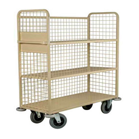 Mobile Linen Storage Trolley