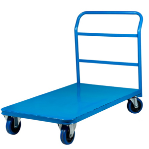 Sheet Deck Platform Trolley - Fixed Handle and Welded Construction