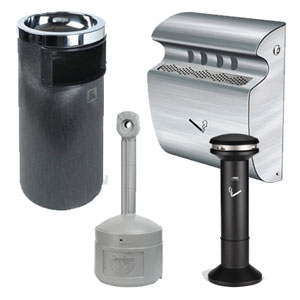 Cigarette Ash Trays & Disposal