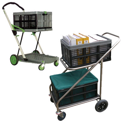 Clax Cart Folding Traymobile Trolley