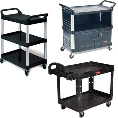 Rubbermaid Traymobile Trolleys