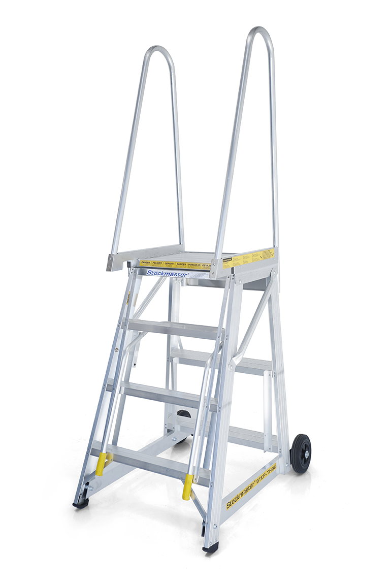 Stockmaster Step-Thru All Terrain Mobile Access Platform