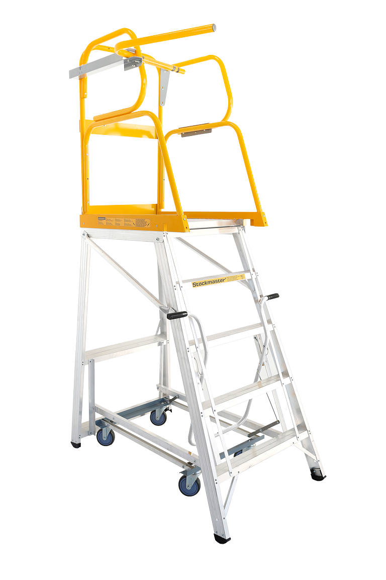 Stockmaster Navigator - Mobile Warehouse Ladder