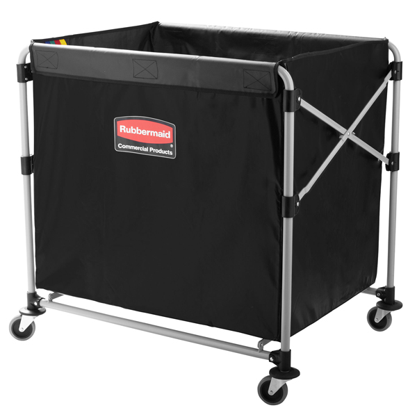 Rubbermaid Collapsible 300L X-Cart Linen basket truck