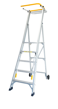 Stockmaster Omni - All terrain Mobile Platform Ladder