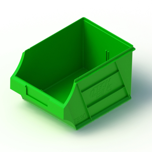 Tech Bin 30 - 6.0 Litre Bins designed to fit onto louvred panels