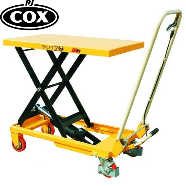 Manual Hydraulic Mobile Scissor Lift Table