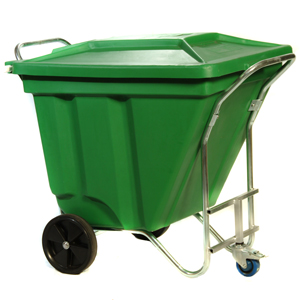 High Capacity Mobile 270 Litre Waste Bin - Gho Kart E374