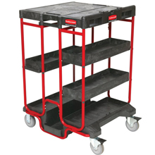 Rubbermaid Ladder Cart