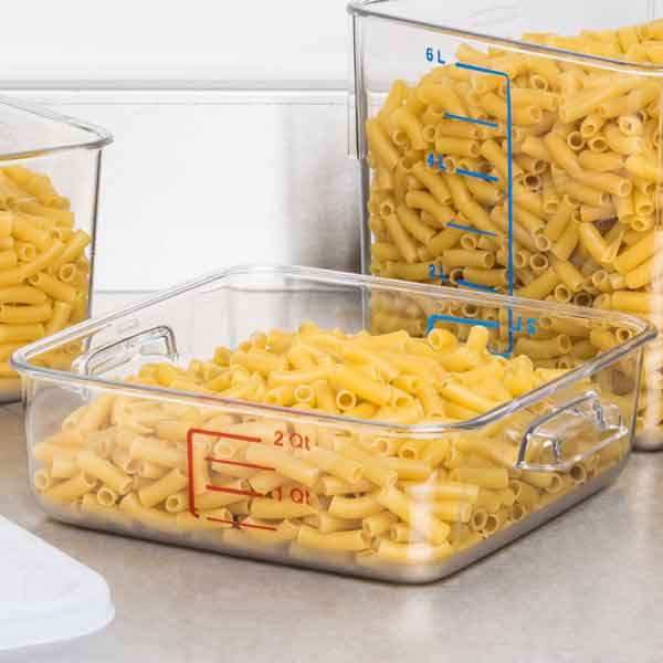 Rubbermaid Square Space Saving Food Container