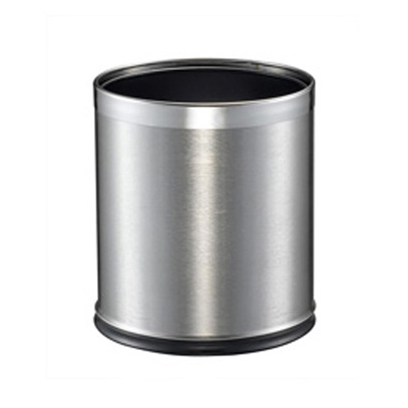 Stainless Steel 10 Litre Round Bin with Liner
