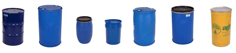 Types of Drums & Barrels