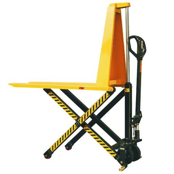 Manual Scissor Style Hi Lift Pallet Trucks