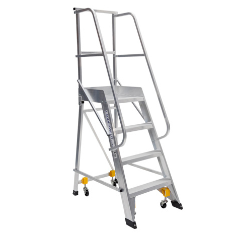 Bailey Temporary Order Picker Work Platform - Height Access ladder