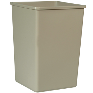 Rubbermaid 3958 132.5 Litre Square Container