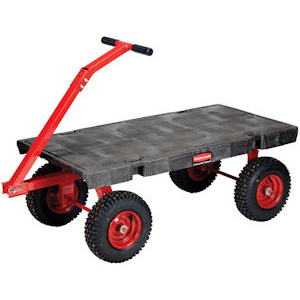 Rubbermaid 4477 5th Wheel Wagon Truck