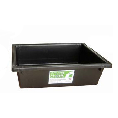Okka Enviro Crate Nesting Tote Storage Container - Recycled Plastic