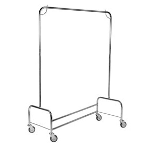 Mobile Stainless Steel Nesting Garment Rail