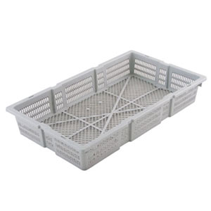 Nally Aquaculture Mesh Plastic Crate - Vented Prawn Crate