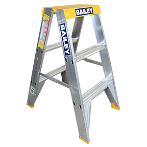 Bailey Pro 150kg Big Top Aluminium Double Sided Ladders