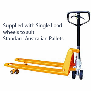 Hand Brake Equipped Pallet Jack
