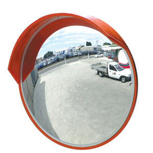 Convex Outdoor Mirror of Safety or Security