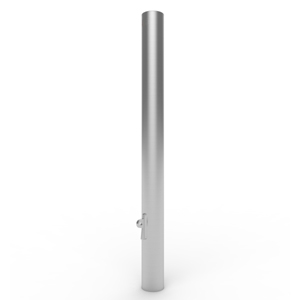 Stainless Steel Sleeve-Lok In-Ground Removable Bollards