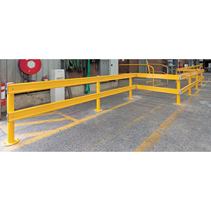 PR-Rail Heavy Duty Post & Rail  Barrier System