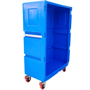 Clean Linen Trolley Tallboy Linen Truck LET7
